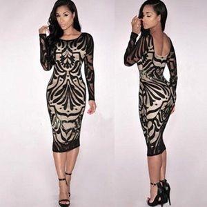 NWOT Bodycon dress
